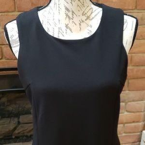 Nina Leonard Dresses - Nina Leonard Black Sheath Dress